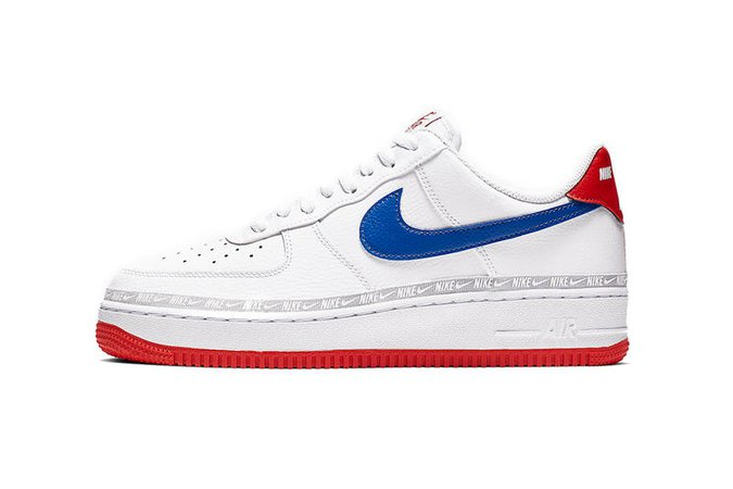 """Nike Air Force 1 """"White/Blue-Red"""" Release Info   HYPEBEAST"""