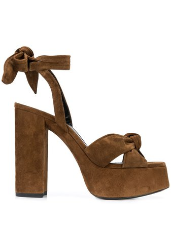 Saint Laurent Bianca 110Mm Sandals Ss20 | Farfetch.com
