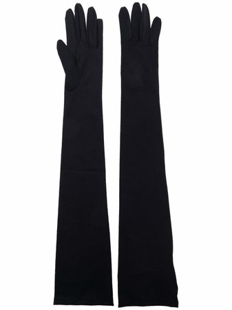 MM6 Maison Margiela elbow-length Gloves - Farfetch