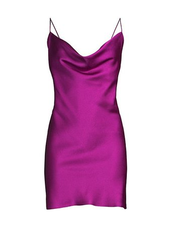 Jay Godfrey Baldwin Satin Slip Dress | SaksFifthAvenue