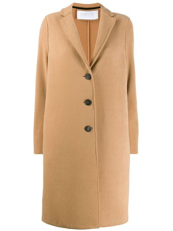 Shop Harris Wharf London single breasted coat with Express Delivery - Farfetch