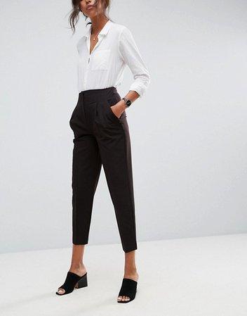 ASOS Tailored Mix & Match Suit in Black | ASOS