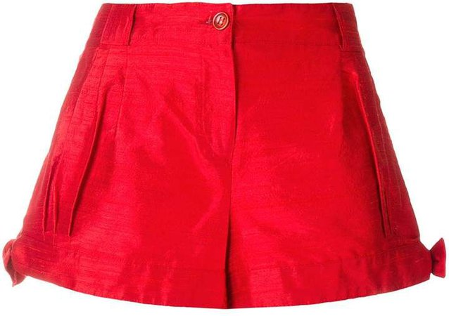 Pre-Owned side ties shorts