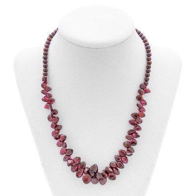 Garnet Gemstone Necklace | Mystic Self LLC