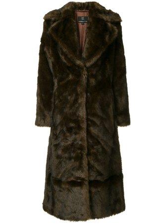 Unreal Fur, Long Mac Coat