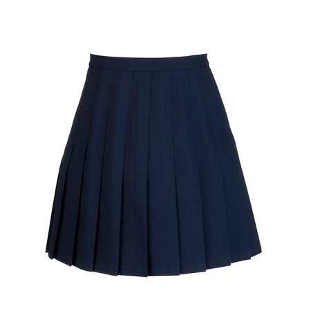 Blue School Skirt