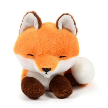 Kogitsune Konkon Curled Tail Fox Plush Collection