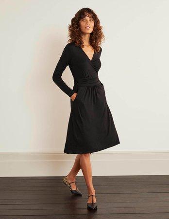 Layla Jersey Dress - Black