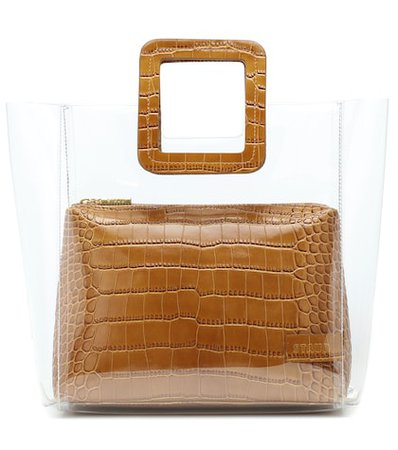 Shirley embossed tote