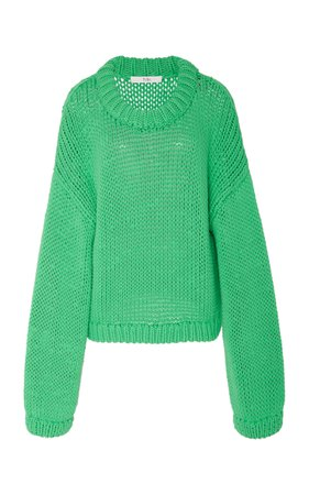 Solid Cropped Pullover