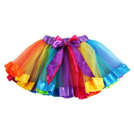 Rainbow Petticoat skirt