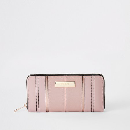 Light pink zip around purse - Purses - Bags & Purses - women