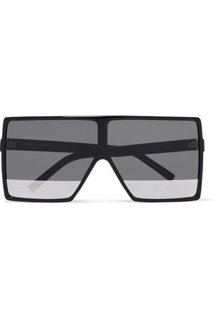 Saint Laurent | Oversized square-frame acetate sunglasses | NET-A-PORTER.COM