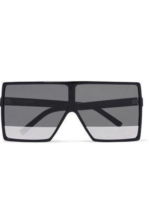 Saint Laurent | Oversized square-frame acetate sunglasses | NET-A-PORTER.COM