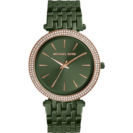 Michael Kors Ladies Darci Olive Green Watch - Watches from Francis & Gaye Jewellers UK