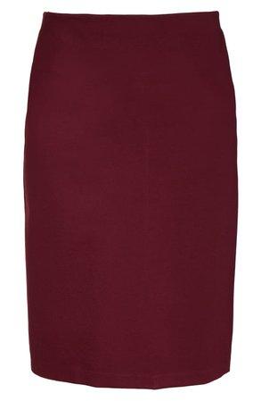 Halogen® Knit Midi Skirt (Plus Size) | Nordstrom
