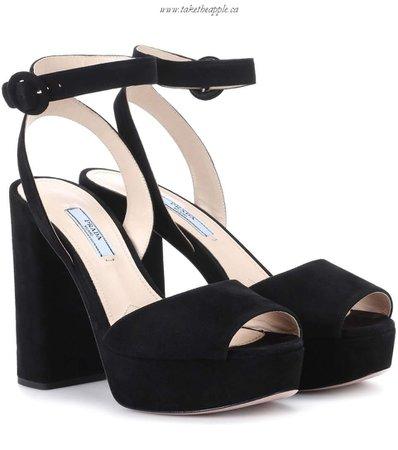 Sale Cheap Shoes Suede Platform Sandals - Prada black Sandals etheapple.ca/images/xnnlmlpok/Sale-Cheap-Shoes-Suede-Platform-Sandals-Prada-black-Sandals-1818283045-Canada-sale.jpg