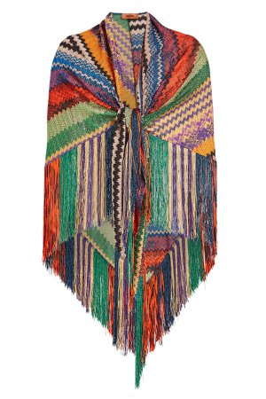 Fringed Scarf Gr. One Size