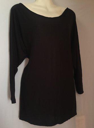 Vince black blouse