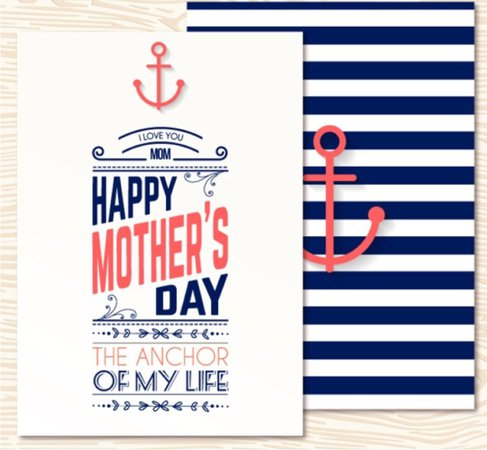 nautical Mother's Day sign - google