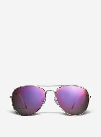 Silver Aviator Sunglasses | Dorothy Perkins