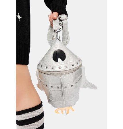 Delia's Spaceship Mini Backpack - Silver | Dolls Kill