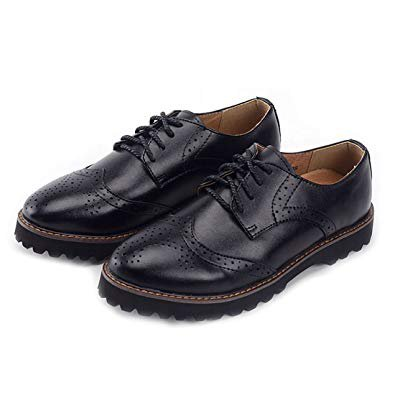 oxford shoes women black