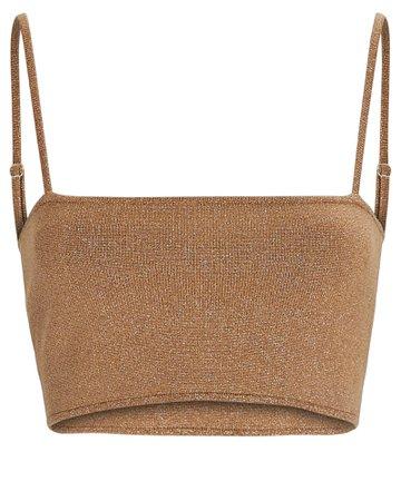 A.L.C. Winnie Strappy Knit Bralette | INTERMIX®