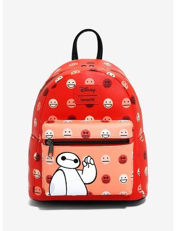 Loungefly Disney Big Hero 6 Faces Mini Backpack