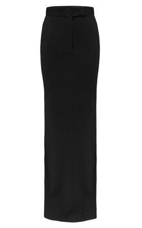 Gabriel Satin Crepe Maxi Column Skirt by Alex Perry   Moda Operandi