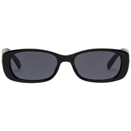 Unreal! | Matte Black Sunglasses – Le Specs
