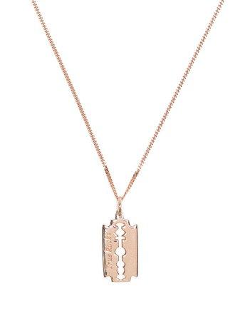 True Rocks Mini Razor Pendant Necklace - Farfetch