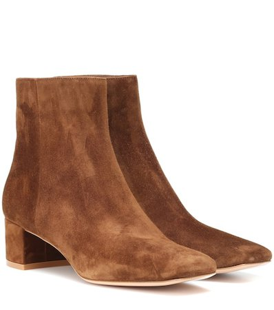 Trish suede ankle boots