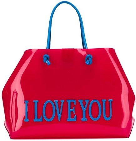 'I Love You' tote bag