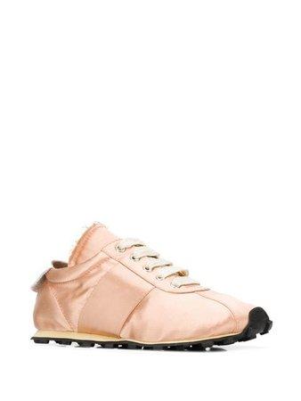 Marni peach pink sneakers