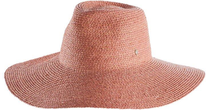 Maiya Wide Brim Raffia Hat