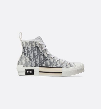 B23 High-Top Sneakers in Dior Oblique - Shoes - Man | DIOR
