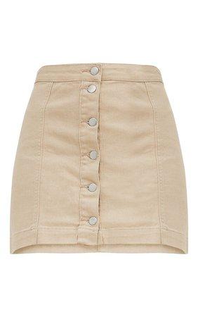 Cammie Blue Denim Mini Skirt | Mini Skirts | PrettyLittleThing