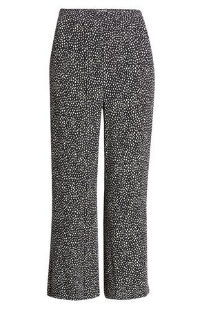 Leith Flare Crop Pants | black