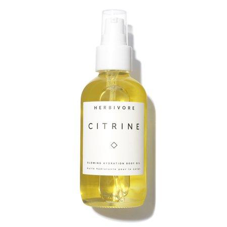 herbivore citrine botanical body oil