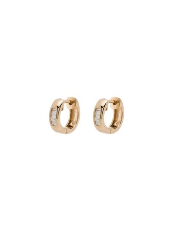 Dana Rebecca Designs 14kt Yellow Gold Diamond Earrings - Farfetch