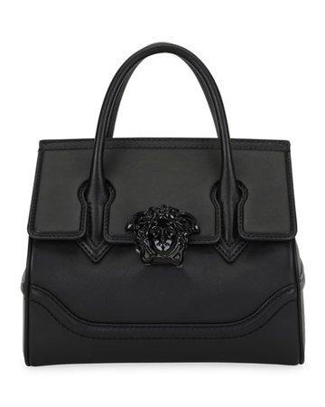 Versace Palazzo Empire Medium Leather Top-Handle Shoulder Bag