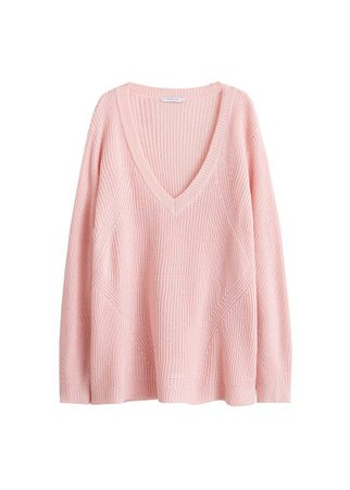 Violeta BY MANGO Chunky-knit sweater
