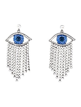SHAY Crystal Crying Drop Earrings - Earrings - SHAYY20055 | The RealReal