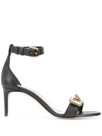 Alexander McQueen Jewel strap sandals black 611731WHXN2 - Farfetch