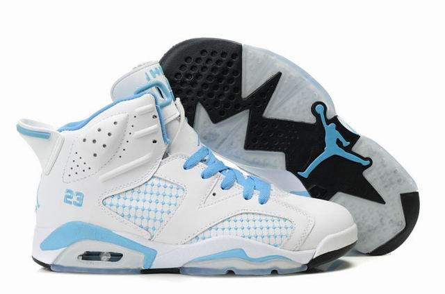 jordan sale uk online, White Blue Nike Jordan Retro 6 Vi Womens comfortable for women jordan fans,jordan shoes online, jordan snapback caps uk Store