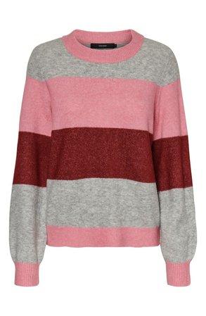 VERO MODA Striped Sweater | Nordstrom