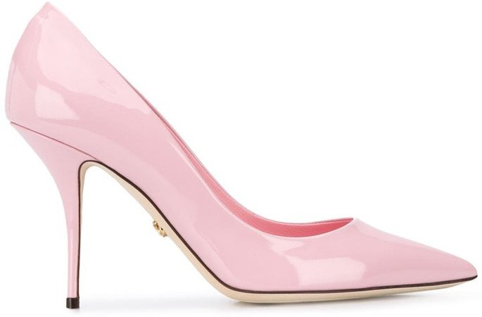 Pointed Toe High-Heel Pumps