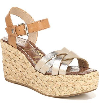 Sam Edelman Darline Platform Wedge Sandal (Women) | Nordstrom