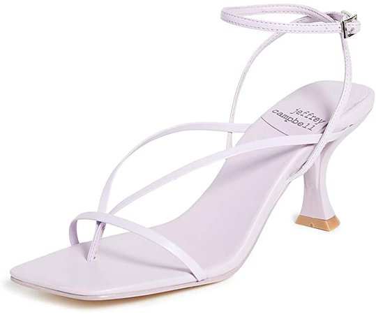 Amazon.com | Jeffrey Campbell Women's Fluxx Sandals, Lilac, Purple, 8 Medium US | Flats